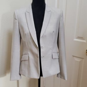 Hugo Boss  Jaellita Light gray blazer size US 6